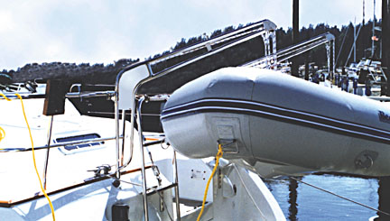 Dinghy Davit Systems And Dinghy Davits For Inflatable Boat